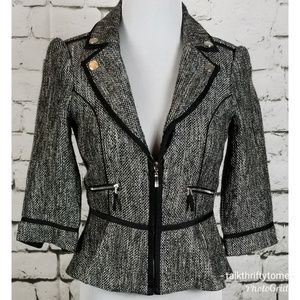 WHBM | Zip Front Career Jacket